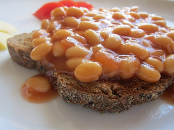 Traditional Beans On Toast (picture from Cooking Aweigh The Pounds)